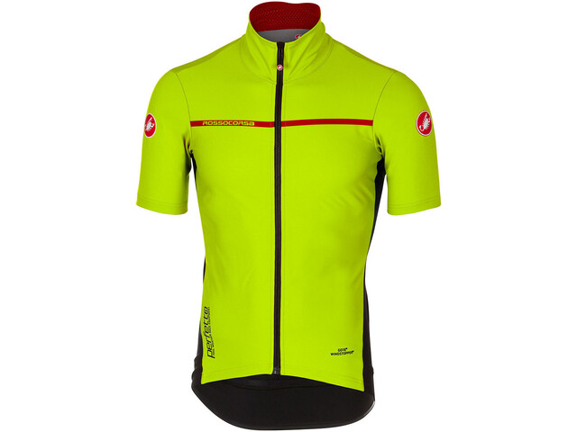 Castelli Perfetto Light 2 Kortærmet cykeltrøje Herrer gul (2019) | Trøjer